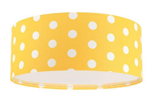 Detská stropná lampa - Luminance E27 60W LED stropná lampa zlatá / biela