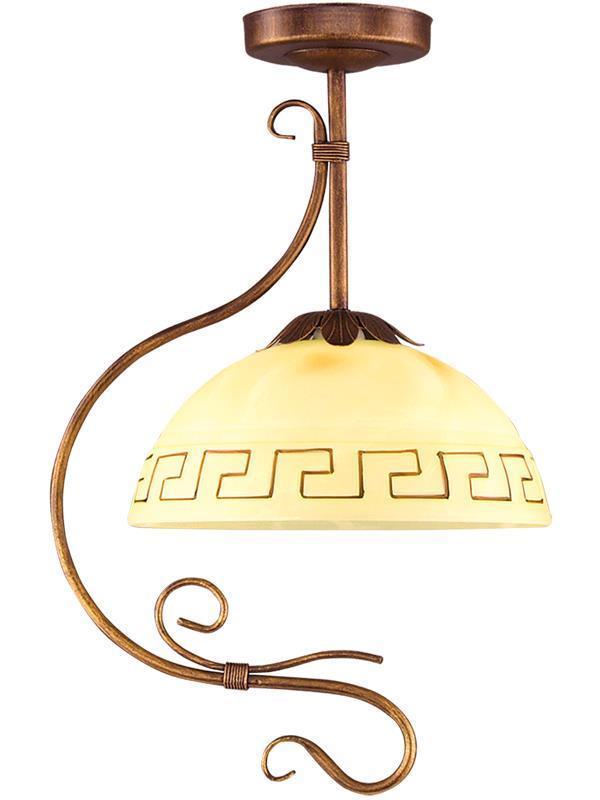 Retro grécka prívesková lampa 1