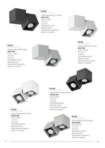 Moderná stropná lampa Kraft 3 čierna small 8