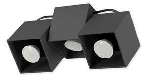 Moderná stropná lampa Kraft 3 čierna small 0