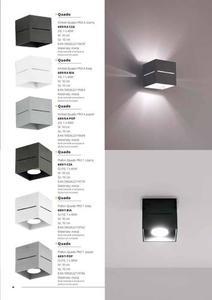 Moderné nástenné svietidlo Quado Pro A Black small 7