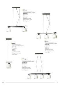 Klasická čierna stropná lampa Olimp 4 small 7