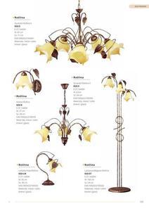 Klasická rastlinná lampa na stenu small 3
