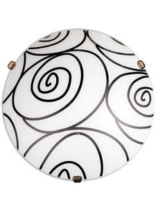 Klasický Plafond Helix White P1 small 0