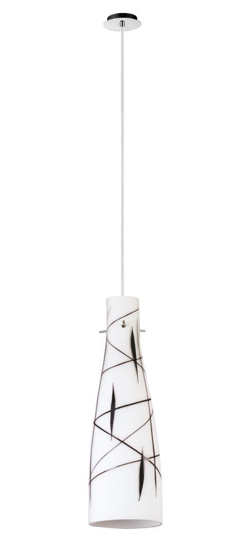 Dizajnová závesná lampa Tubo 1