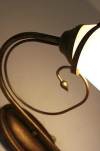 Klasická nástenná lampa na mašľu small 4