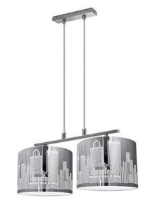 Dizajnová závesná lampa City 2 small 0