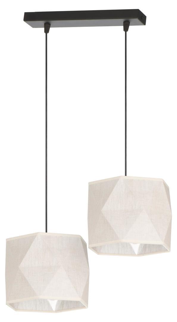 Klasická závesná lampa Tekla 2 Len