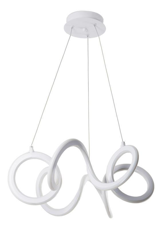 Moderná závesná lampa Emily