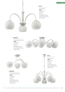 Klasická stropná lampa Mulino 5 small 2