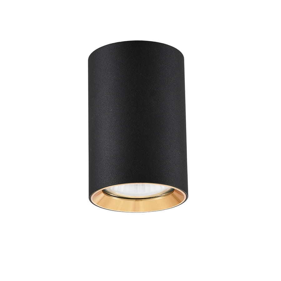 Čierny prsteň Manacor so zlatým prsteňom 9 cm