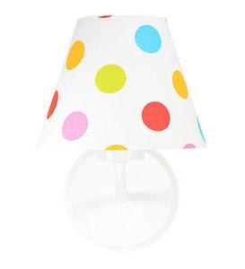 Kónus nástennej lampy s farebnými bodkami Raggio E27 60W pre deti small 0