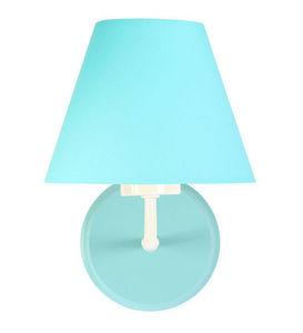 Tyrkysové nástenné svietidlo Raggio E27 60W do miestnosti pre mládež small 2