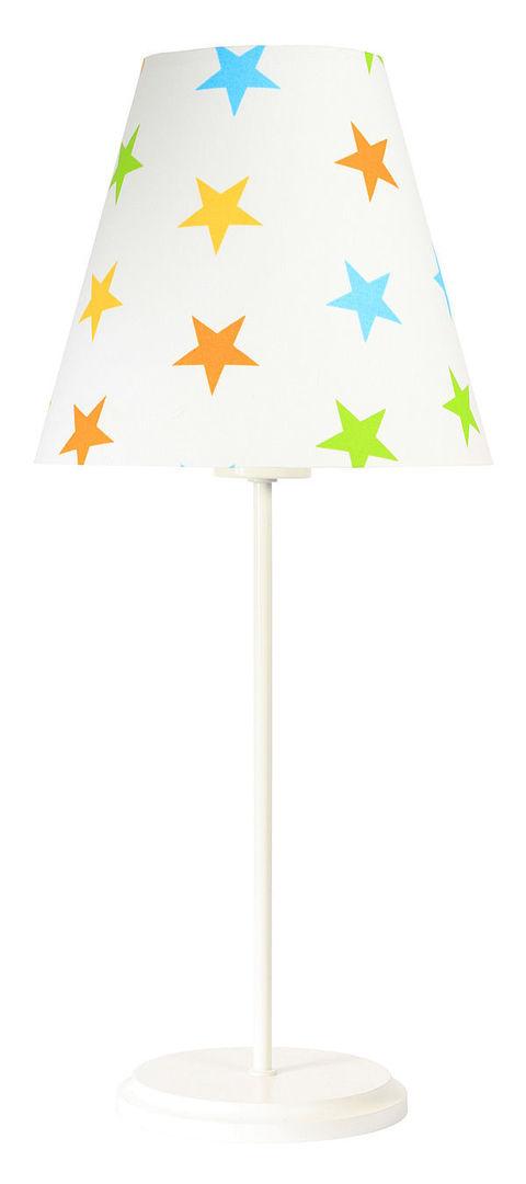 Stolná lampa Ombrello 60W E27 50cm farebné hviezdy