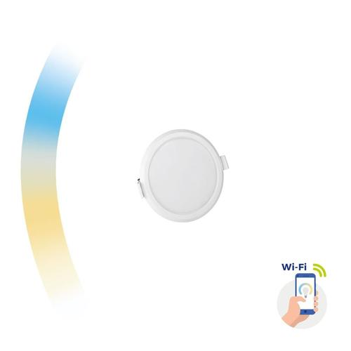 Algine 6w Cct + tlmené Wi-Fi spektrum Smart Round