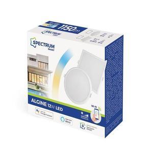 Algine 12w Cct + tlmené Wi-Fi spektrum Smart Round small 1