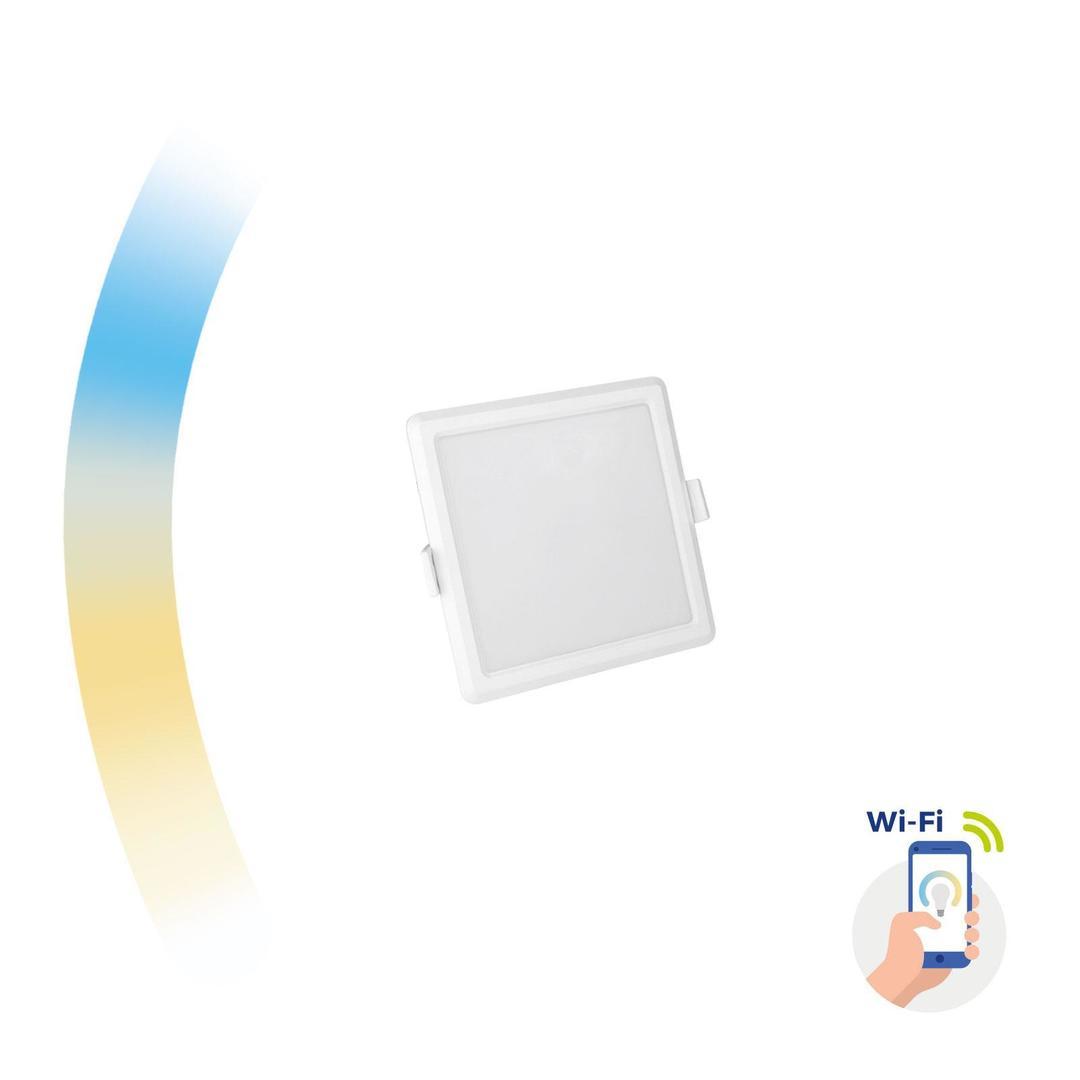 Algine 6w Cct + tlmené Wi-Fi spektrum Smart Square