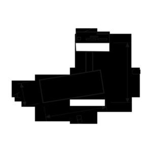 Mdr Branta Lux Nst 930 10w 230v 36st čierna small 1