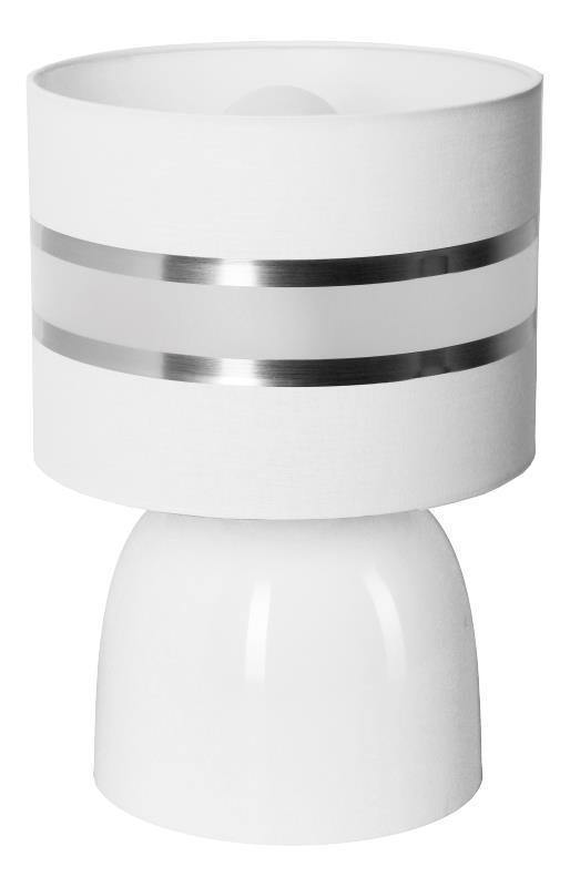 Moderná lampa s malým svetlom Hades White A