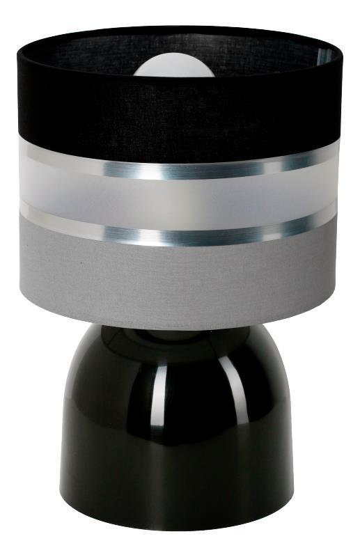 Moderná malá lampa Hades čierna B.