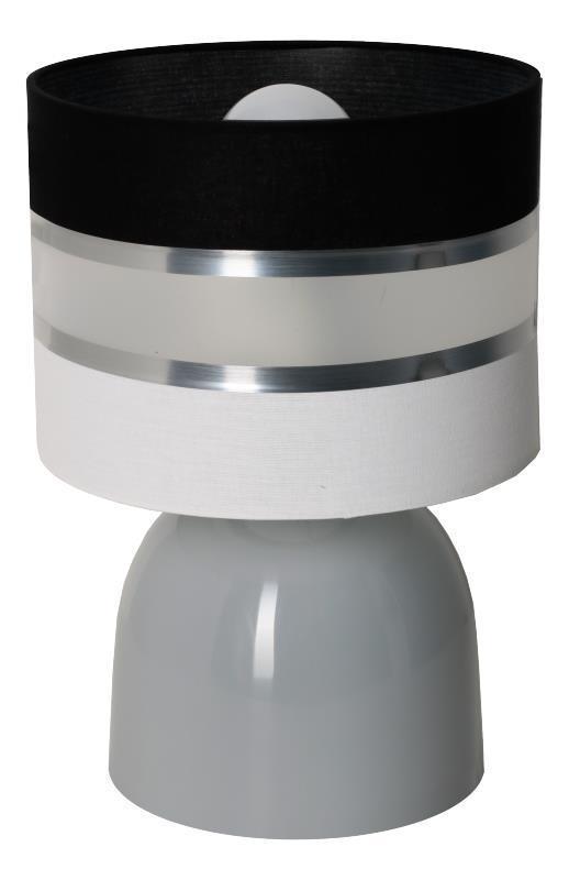Moderná malá lampa Hades šedá C.