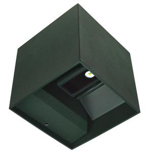 Kreo LED vonkajšie nástenné svietidlo 2x3W hranaté 4000K nastaviteľný uhol osvetlenia small 1