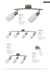 Dizajnérske stropné svietidlo Burgos 3 small 2