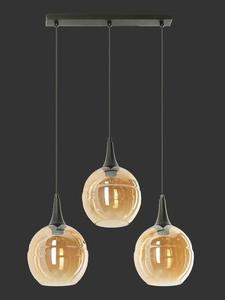 Dizajnová závesná lampa Malwi 3 small 1