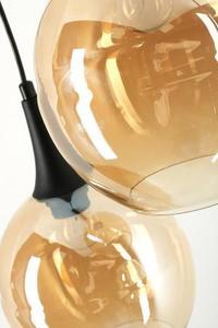 Dizajnová závesná lampa Malwi 3 small 3
