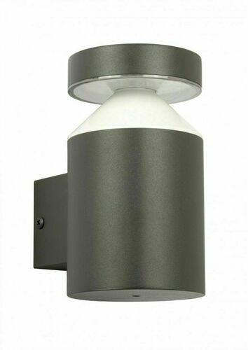 Moderné vonkajšie nástenné svietidlo Delta DL-K100 tmavošedé