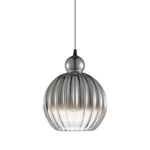 Čierna závesná lampa Biron E27 small 0