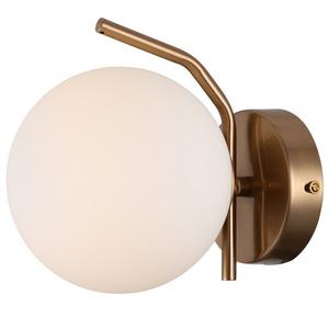 Mosadzná moderná nástenná lampa Carimi G9 small 1