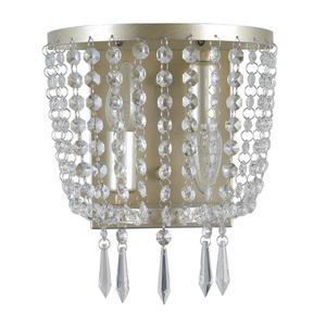 Šampanské Nástenné svietidlo Cortina E14 2-bodové small 0