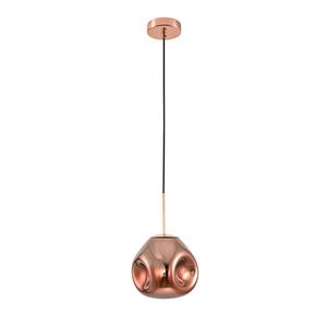 Medená závesná lampa Fellet E27 small 1