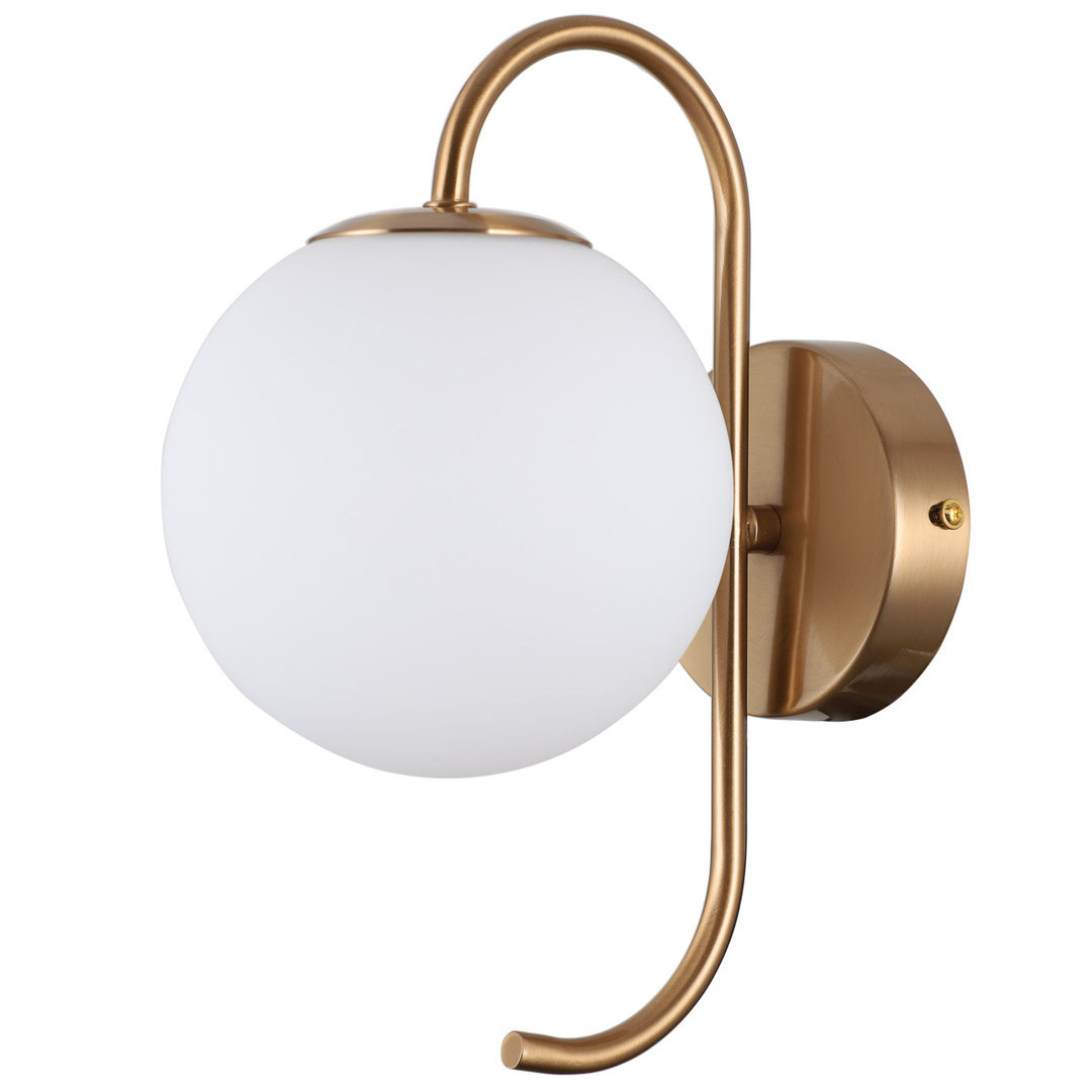 Nástenná lampa Mosadz Gela G9
