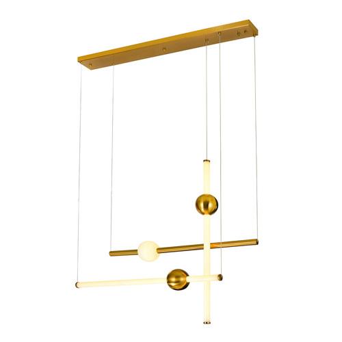Moderné závesné LED svietidlo Halling