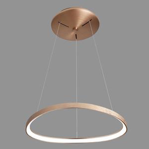 Hnedá závesná lampa Morfi LED small 1