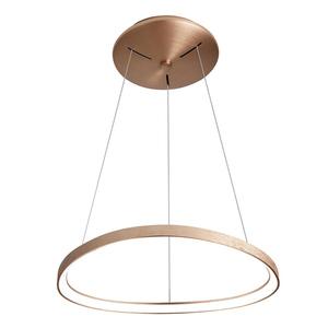 Hnedá závesná lampa Morfi LED small 2