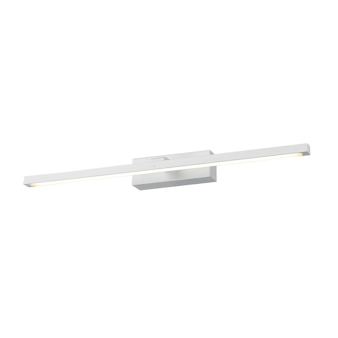 Moderné biele nástenné svietidlo Nertus LED