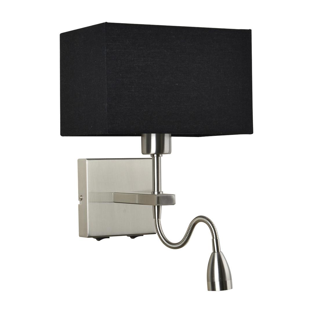 Moderné nočné lampy Norte E27 s 2 žiarovkami