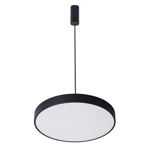 Čierna orbitálna LED prívesková lampa small 0