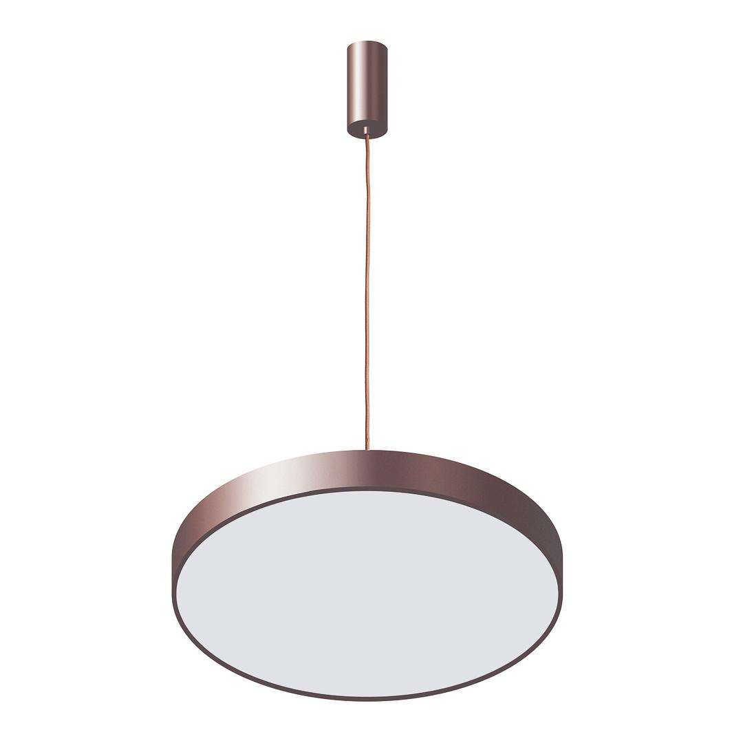 Moderná orbitálna LED závesná lampa