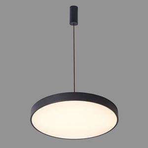 Čierna orbitálna LED prívesková lampa small 1