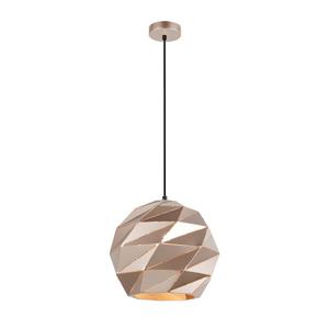 Zlatá prívesková lampa E27 Palermo small 1
