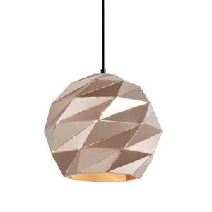 Zlatá prívesková lampa E27 Palermo small 0