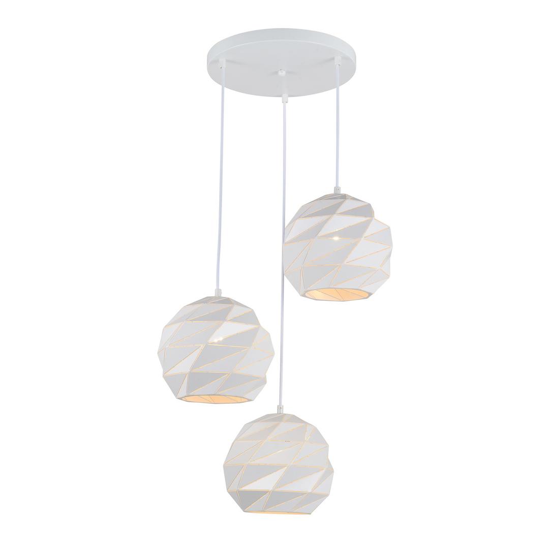 Závesné svietidlo Palermo E27, 3 žiarovky