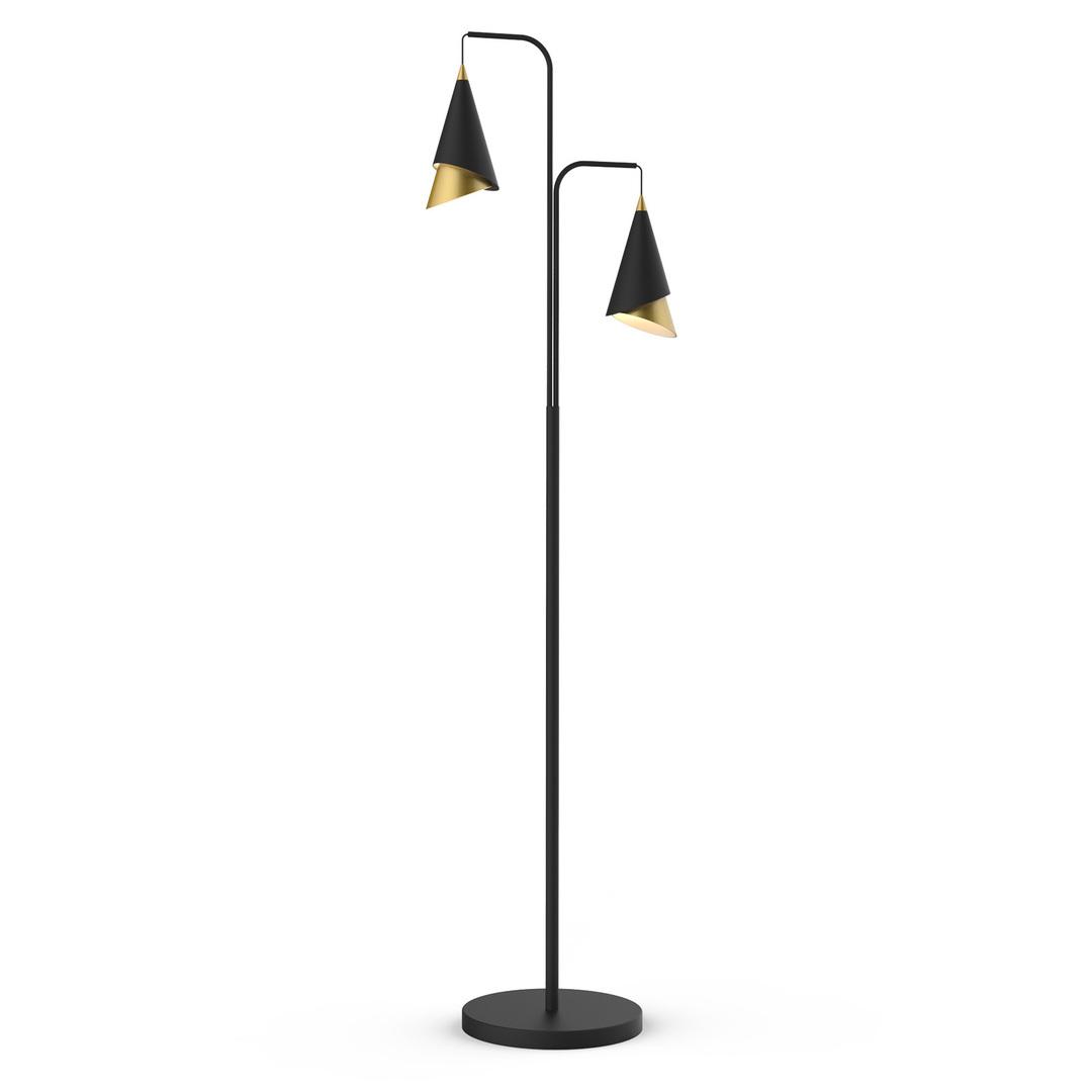 Moderné stojace LED svietidlo Raalto