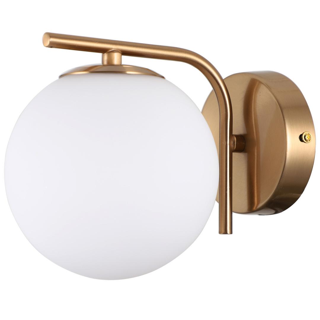 Moderné zlaté nástenné svietidlo Raddi G9