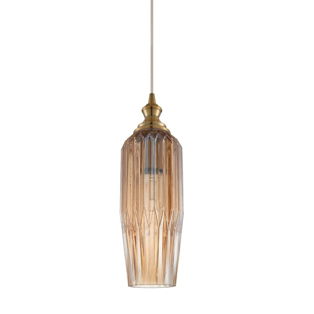 Moderná závesná lampa Rodez E27