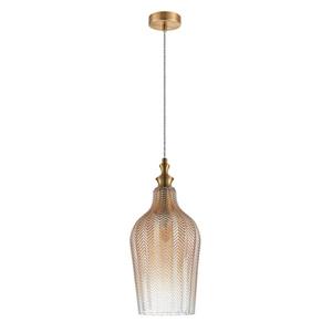 Mosadzná závesná lampa Sabres E27 small 1